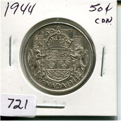 1944 CNDN 50 CENT PC (SILVER)