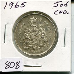 1965 CNDN 50 CENT PC (SILVER)