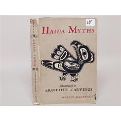 Haida Myths Book by Marius Barbeau