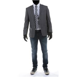 """""""Sam Witwicky"""" blazer and jeans ensemble from Transformers: Dark of the Moon."""