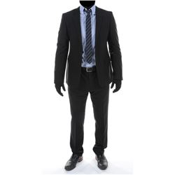 """""""Sam Witwicky"""" charcoal suit ensemble from Transformers: Dark of the Moon."""