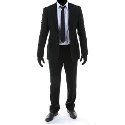 """""""Sam Witwicky"""" black suit ensemble from Transformers: Dark of the Moon."""
