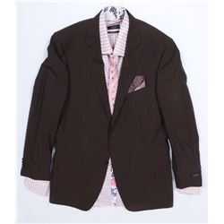 """""""Simmons"""" brown suit ensemble from Transformers: Dark of the Moon."""