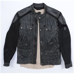 """""""Lennox"""" leather jacket ensemble from Transformers: Dark of the Moon."""