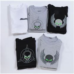 """""""NEST"""" t-shirts (9) from Transformers: Dark of the Moon."""