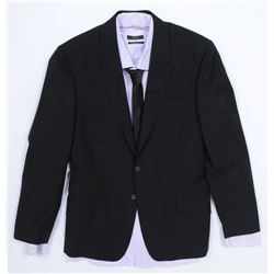 """""""Simmons"""" black suit ensemble from Transformers: Dark of the Moon."""