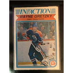 1982-83 O-Pee-Chee Wayne Gretzky #107 In Action