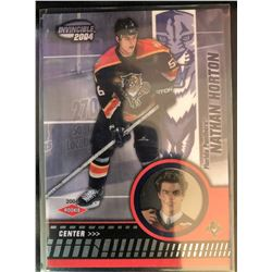 2003-04 Pacific Invincible Rookie Nathan Horton #111