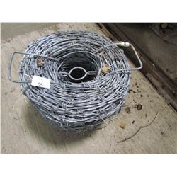 ROLL OF BARB WIRE (NEW)