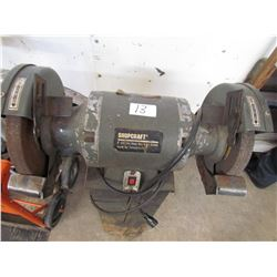 "BENCH GRINDER *8"" - ½HP* (SHOP CRAFT)"