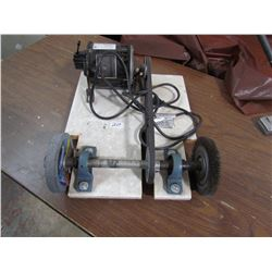 GRINDER & WIRE WHEEL (1/3HP)