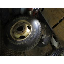 "2 TIRES & RIMS 235-85-16"" (8 BOLT PATTERN)"