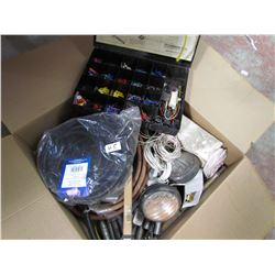 LOT OF MISC. ELECTRICAL & CONNECTORS