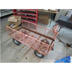 GARDEN CART (RUBBER TIRE)