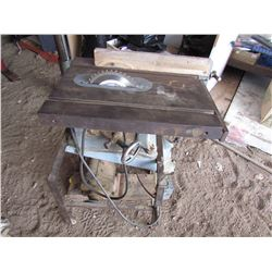 TABLE SAW (SMALL) *HOME MADE*