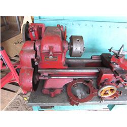 METAL LATHE (CALUSING MANUFACTURING) *& ALL ATTACHMENTS* (TIMKEN BEARING EQUIPPED)