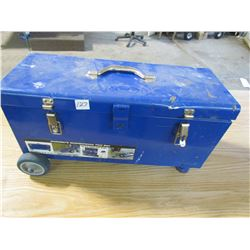 TOOL BOX (ORCON) *W/WHEELS, HANDLES* (MISSING TRAY)