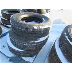 TIRES (GOOD YEAR) *295/75/R22.5* (QTY 3)