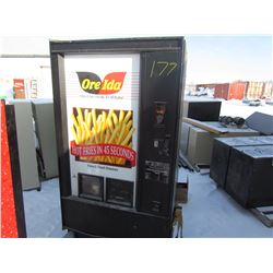 FRENCH FRIE MACHINE (OREIDA) *W/3 BOXES FRY CONTAINERS*