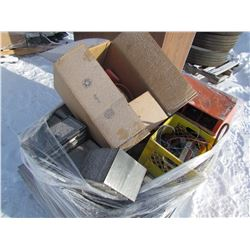 PALLET OF BOLT BINS (LARGE QUANTITY OF SMALL BOLTS, WASHERS & BINS)