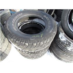 3 TIRES (265-70R-17, WILD COUNTRY)