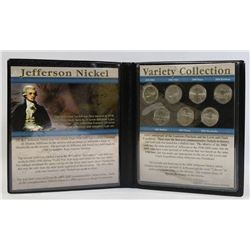 JEFFERSON NICKEL COIN COLLECTION IN CASE