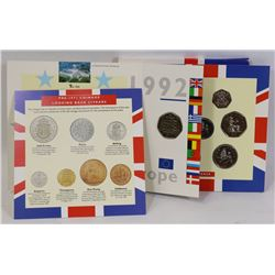 1992 UNCIRCULATED UK COIN COLLECTION SET