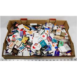 FLAT OF ASSORTED MATCHES