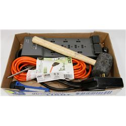 ESTATE FLAT W/ NEW EXTENSION CORD, RUBBER MALLET &