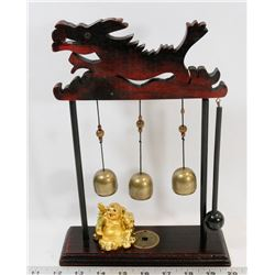WOOD DRAGON BELL / GONG
