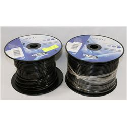 LOT OF 2 -150M RG59 COAXIAL CABLE