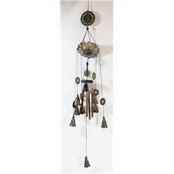 TEMPLE BELL & LUCKY COIN WIND CHIME