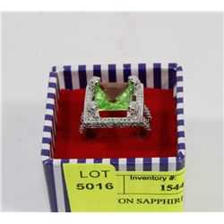 FASHION SAPPHIRE EVENING PARTY RING