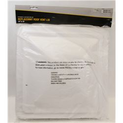 """14"""" X 14"""" REPLACEMENT ROOF VENT LID"""