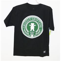NEW GRIZZLY T-SHIRT, YOUTH MEDIUM