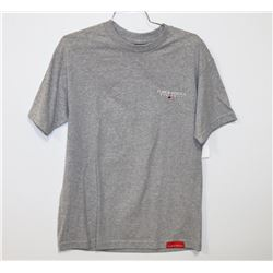 NEW PLAN B GRIZZLY T-SHIRT, HEATHER, SIZE SMALL