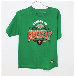 NEW BEWARE OF GRIZZLY T-SHIRT, SIZE XL