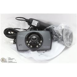 NEW HD DASHCAM WITH 12V POWER SUPPLY CORD