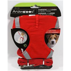NEW ADJUSTABLE HARNESS AND LEASH FOR SMALL DOGS