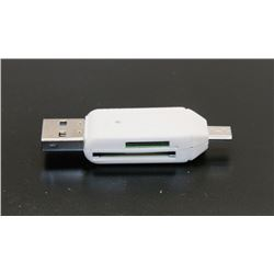 NEW HI-SPEED USB 2.0 ALL-IN-ONE CARD READER