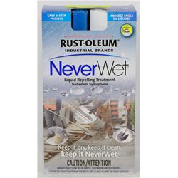 "RUST-OLEUM ""NEVER-WET"" LIQUID REPELLING TREATMENT"