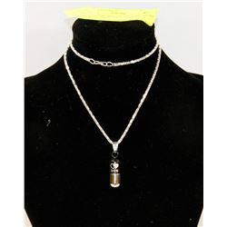 NEW LOVE CAPSULE PENDANT AND NECKLACE SET