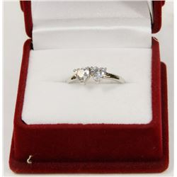 TWO HEARTS BEATING AS ONE ROMANCE RING
