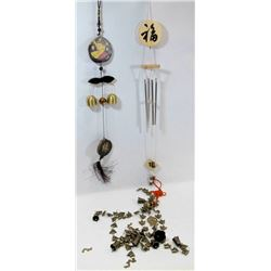 LOT OF 3 NEW ASIAN WIND CHIMES