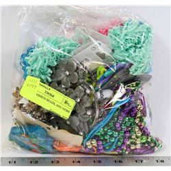 BAG OF FASHION BEADS, AND MORE