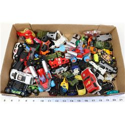 FLAT OF TOY CARS