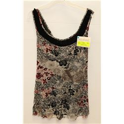 NEW ARIANNE SOFT LACE DESIGNER DRESS TOP SMALL