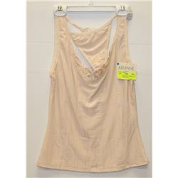 NEW ARIANNE BEIGE CAMISOLE & PANTY SET SIZE SMALL