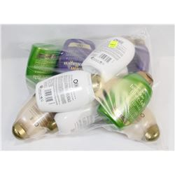 LARGE BAG OF ASSORTED BATH SHAMPOOS AND