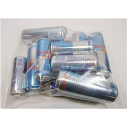 BAG OF ASSORTED RED BULL.